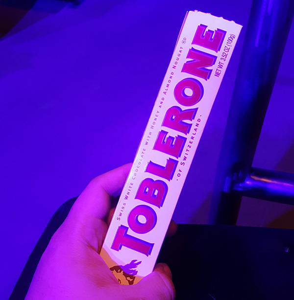 Blue Man Group Singapore Toblerone Audience Participation