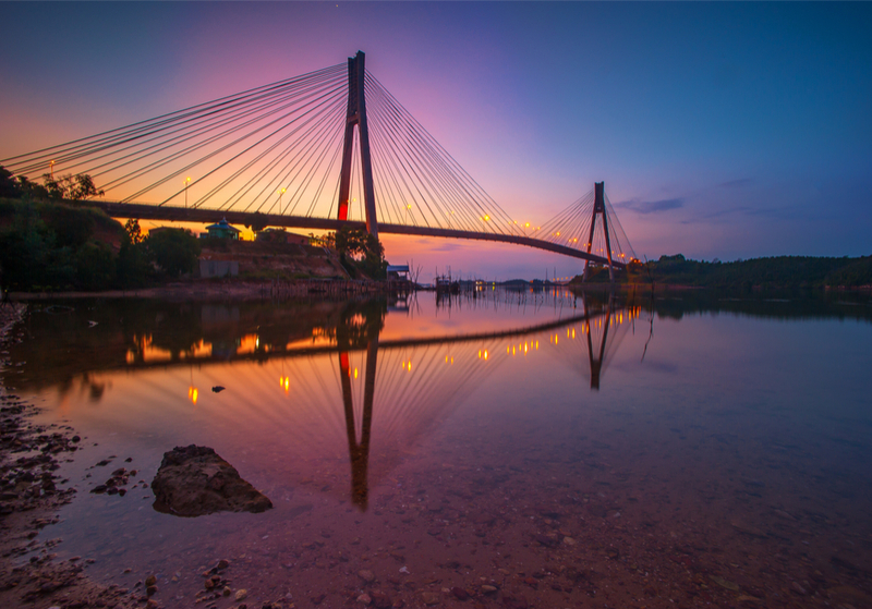 batam barelang bridge