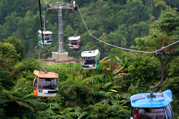 genting highlands cable car