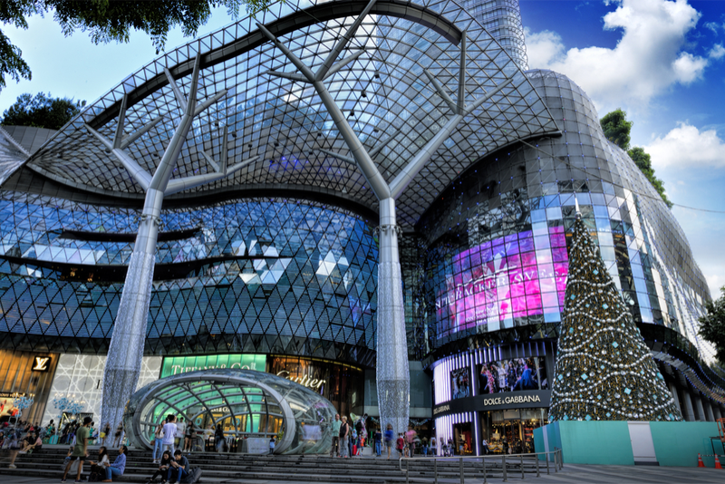 singapore ion orchard shopping