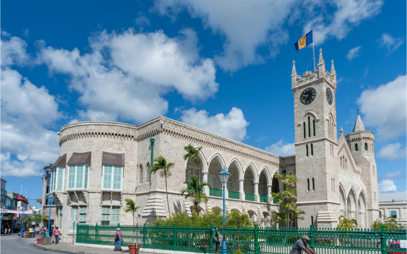 barbados parliament building