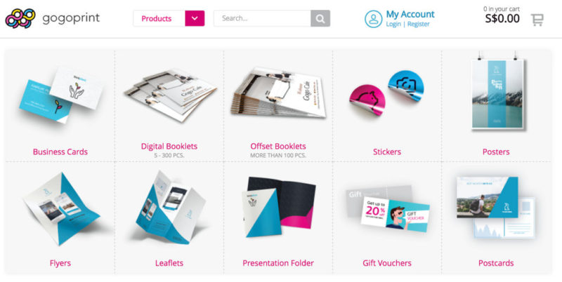 gogoprint printing services variety