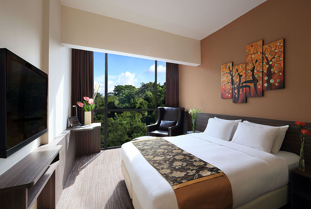 Bay hotel Deluxe King Room 25 sqm Singapore review