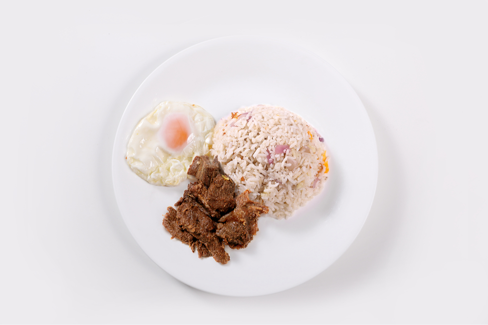 philippines Adobo Tapsilog fried rice