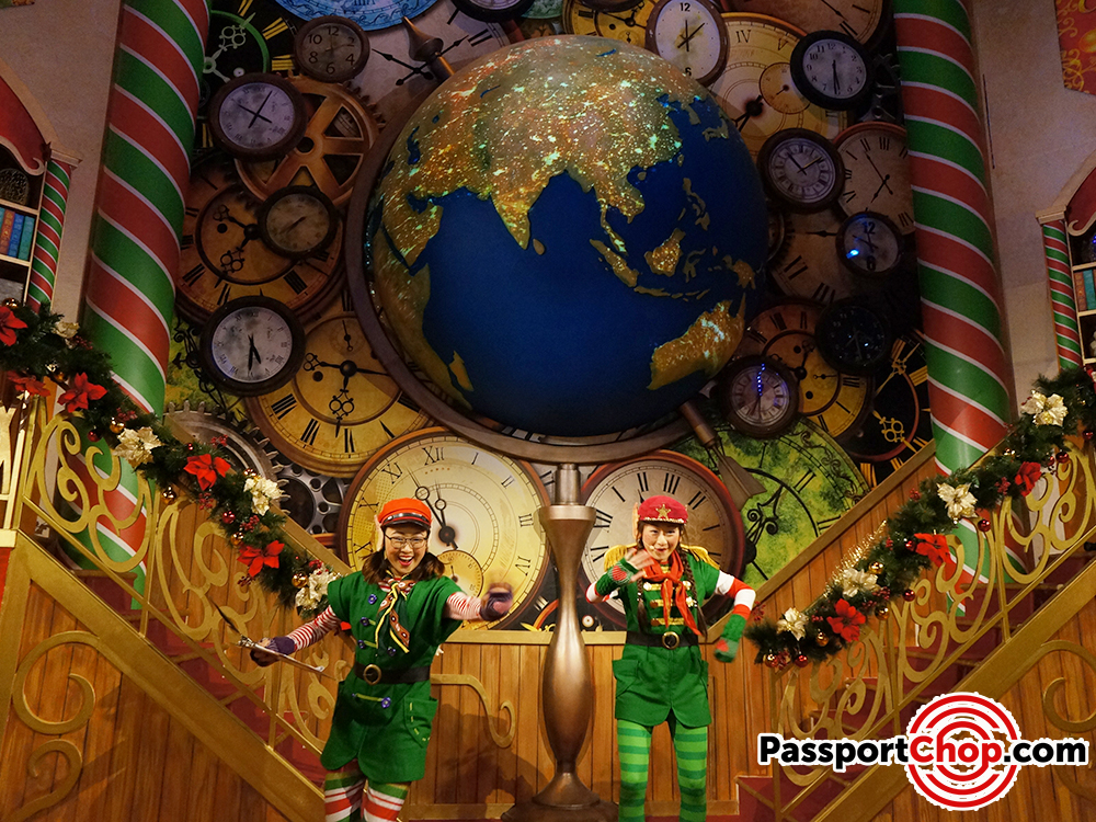 santa workshop universal studios review singapore elf