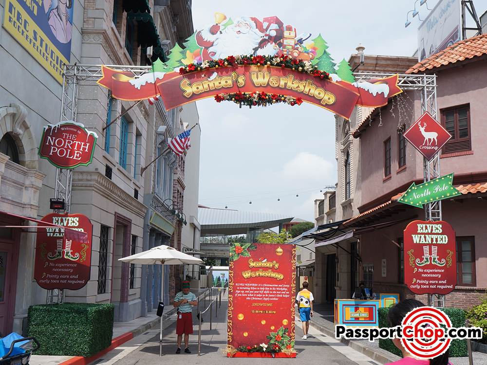 santa workshop universal studios review singapore