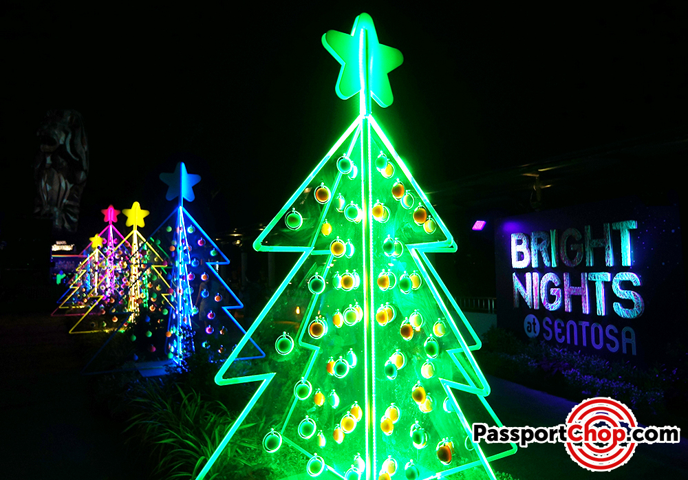 sentosa lights festival island