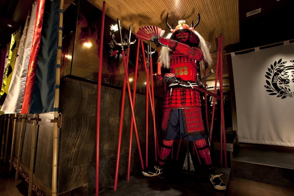 Sengoku Buyuden Tokyo Samurai Restaurant