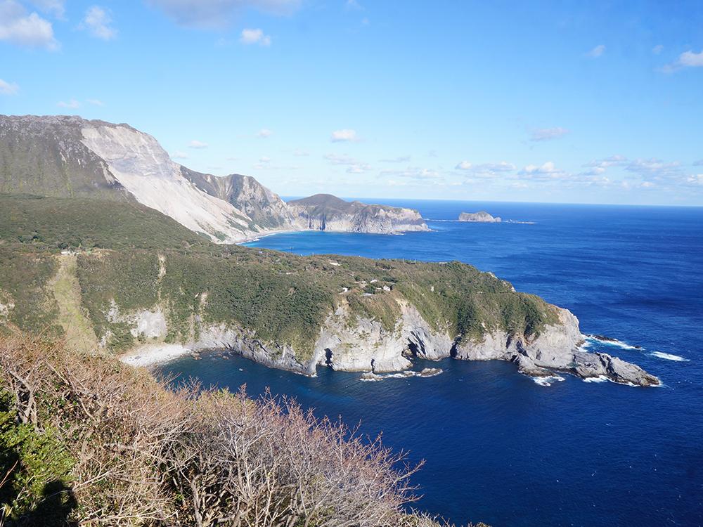 Tako Bay and Mount Tenjo miura observatory