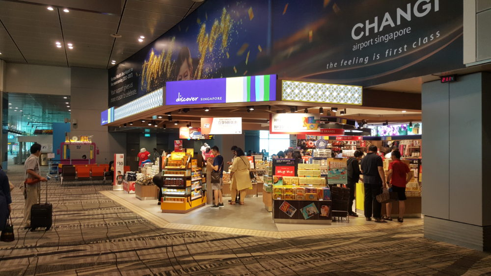 changi airport shopping unionpay discount
