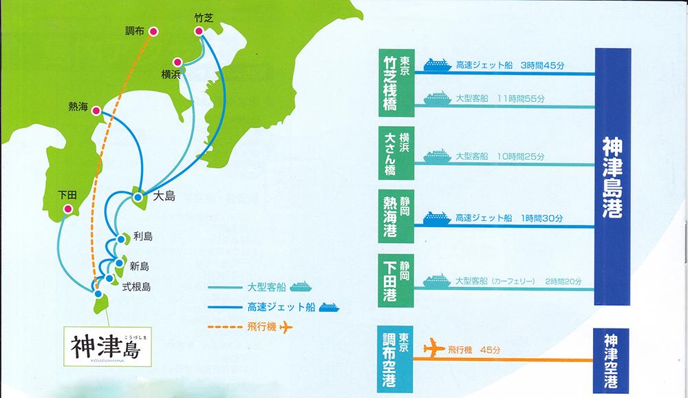 getting to kouzushima island