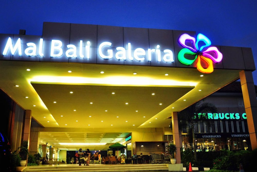 mal bali galeria what to do in bali shopping