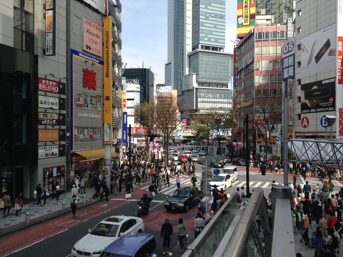 shibuya 109 veranda hachiko