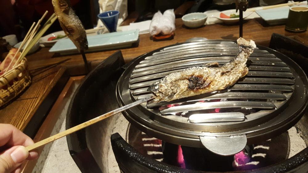 tatsumikan dinner grilled fish ryoka
