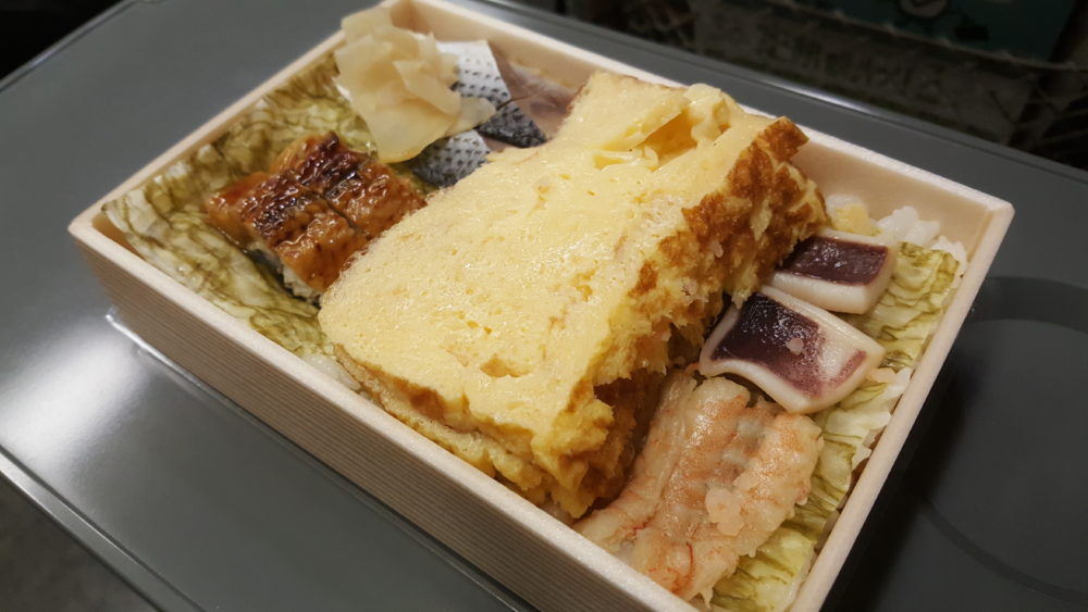 seafood train bento Ekiben