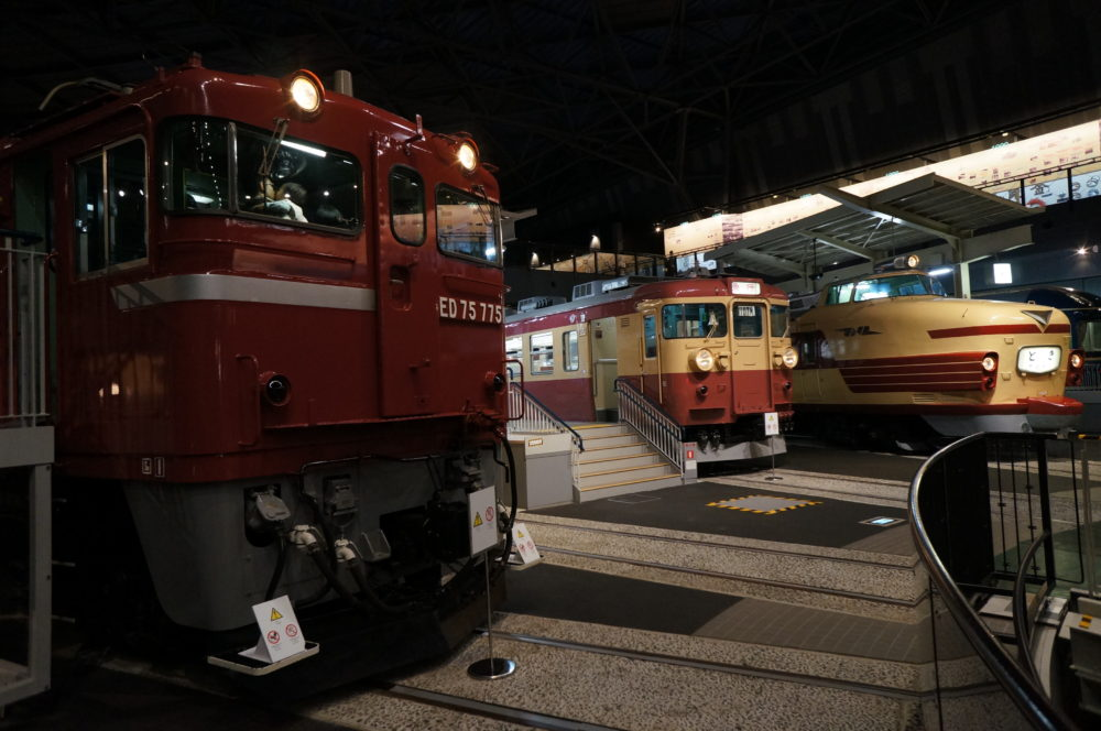 saitama railway museum train locomotive display