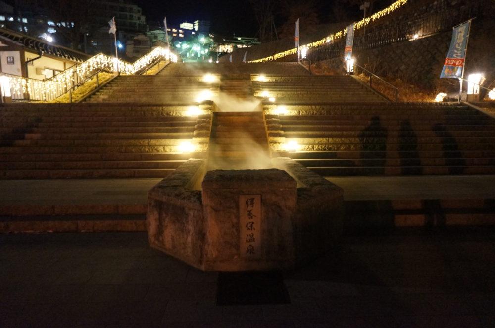 ikaho onsen gunma stone stairways 300 steps