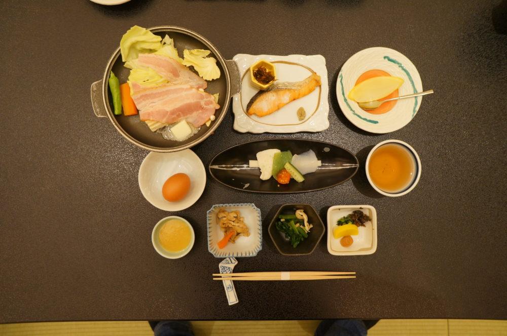 breakfast fukuichi ikaho onsen