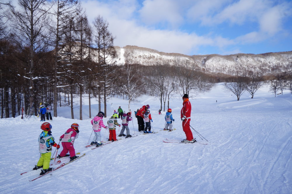 skiing minakami kogen ski resort