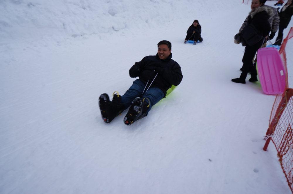 gala yuzawa sledding