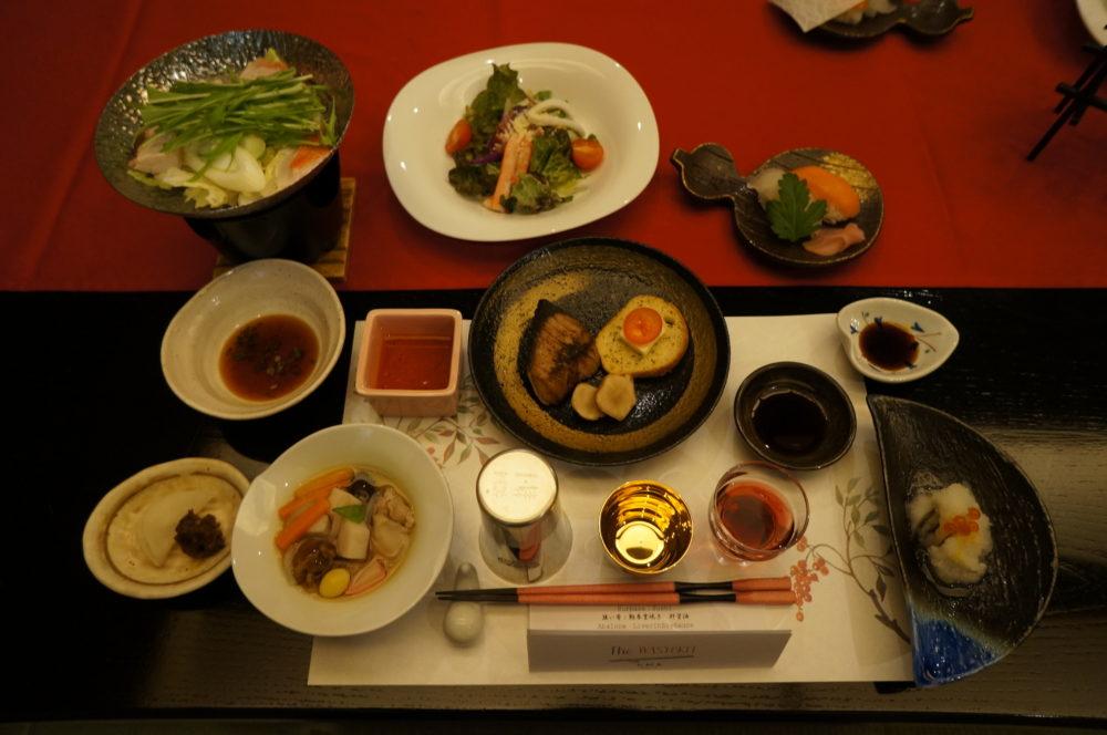 minoya ryokan dinner kaiseki