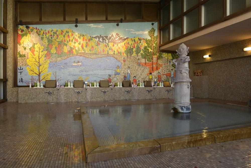 tatsumikan onsen hot spring indoor