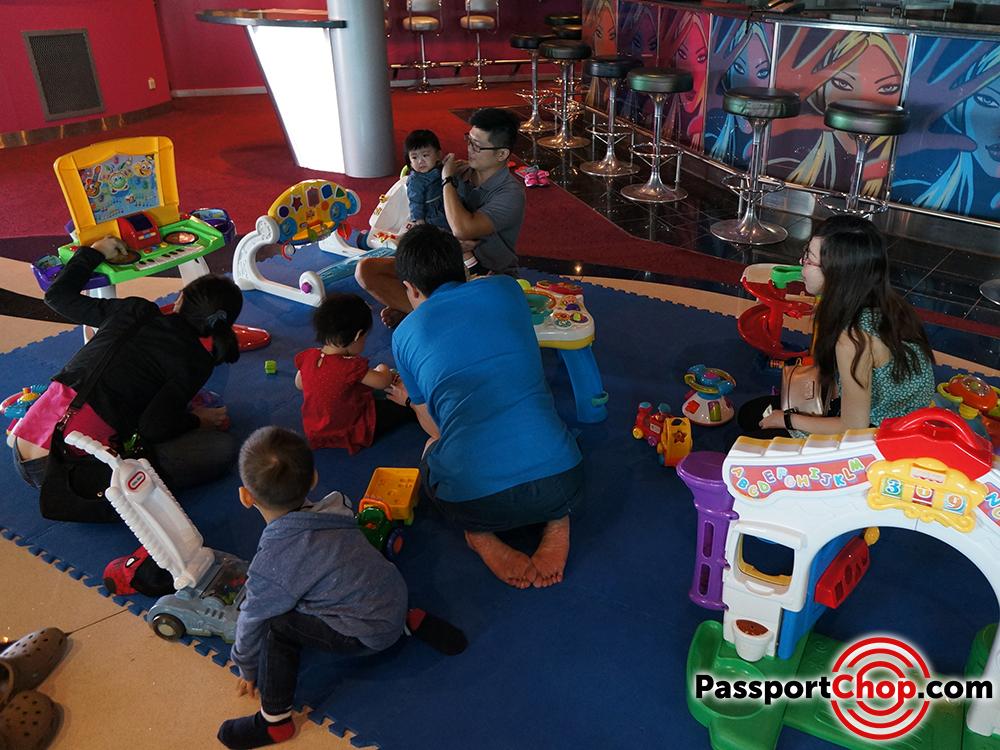 royal caribbean mariner of the seas adventure ocean club kids playroom