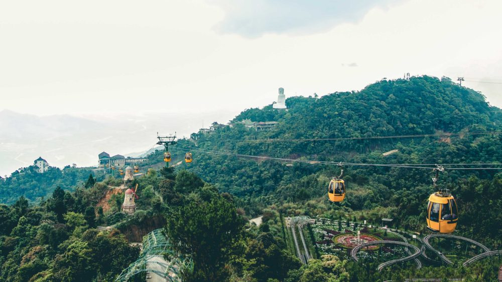 Ba Na Hills Cable Car Tour in Danang Vietnam