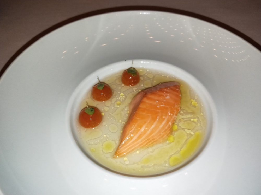 Ikarimi Salmon Tim Raue Michelin Star Berlin