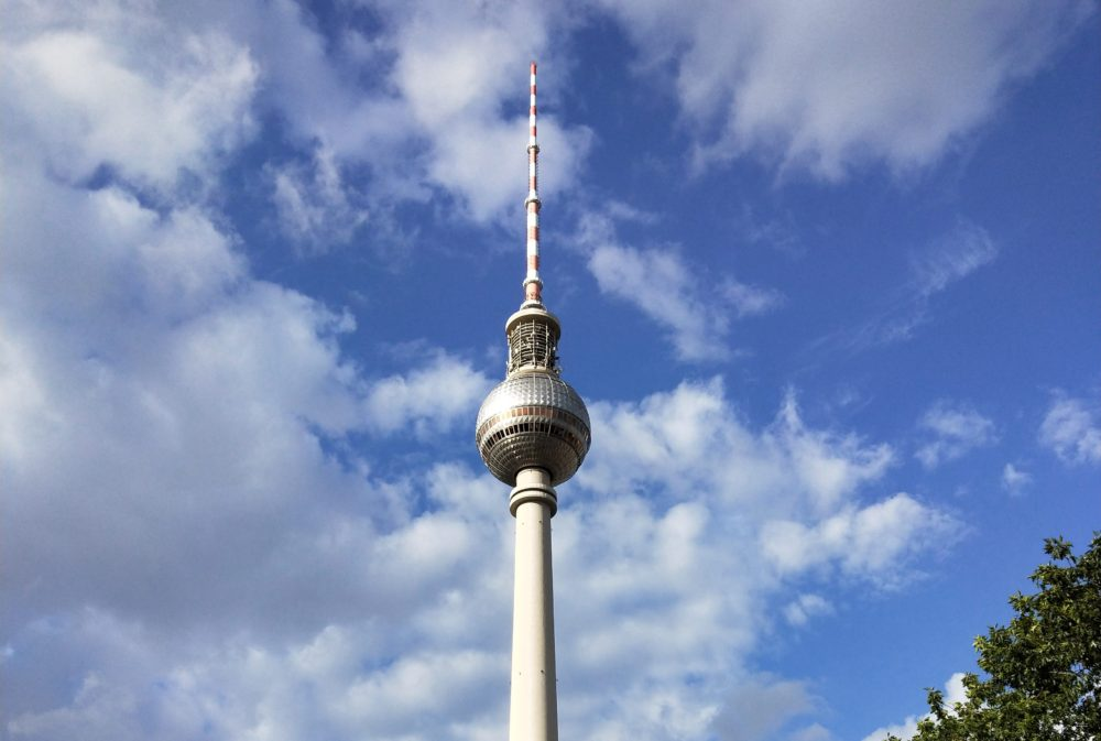 alexanderplatz TV Tower Berlin
