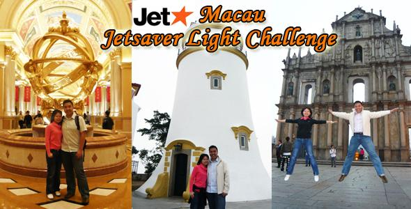 JetStar Macau JetSaver Light Challenge