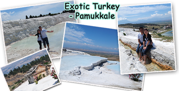 Exploring Cotton Castle Pamukkale and Roman City Ruins of Hierapolis