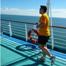 Royal Caribbean Cruise Exercise Rock Climbing Gym Miniature Golf